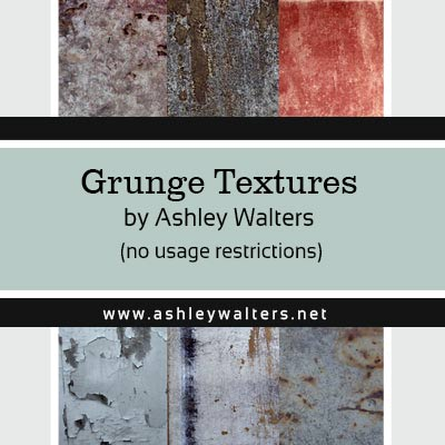 Grunge Textures by Ashley in zip format